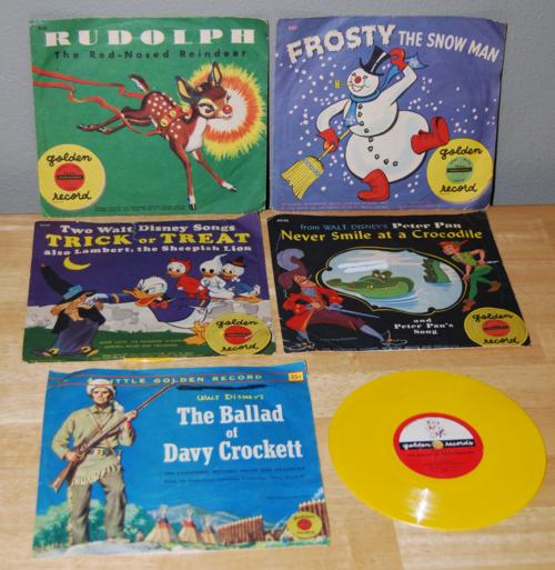Vintage vinyl for children
