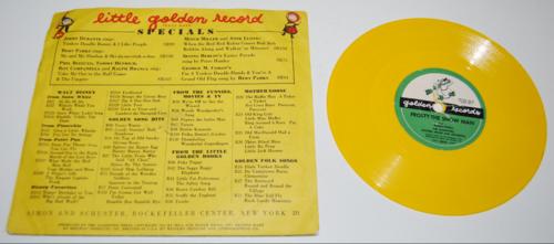 Vintage golden records for children 2