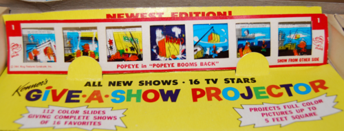 Kenner give a show projector 8