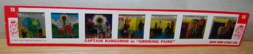 Kenner give a show projector capt kangaroo slide