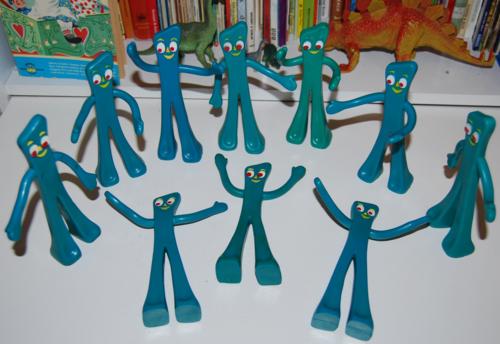 Trendmasters gumby toys