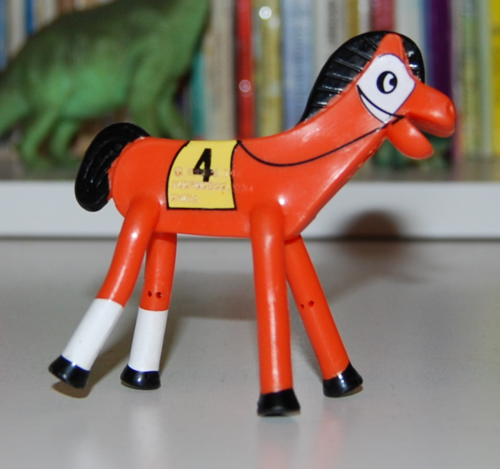 Pokey racehorse figure x