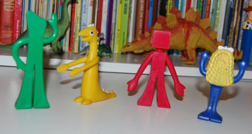 Gumby burger king toys x