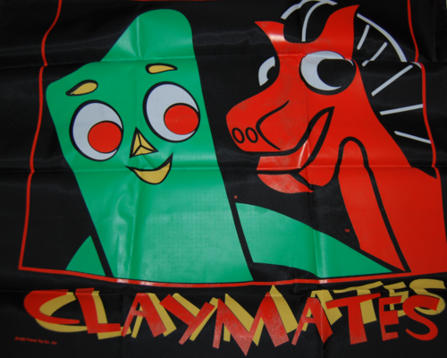 Gumby claymates banner 1996