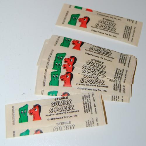 Gumby bandaids prema 1989 2