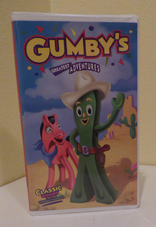 Gumby's greatest adventures vhs