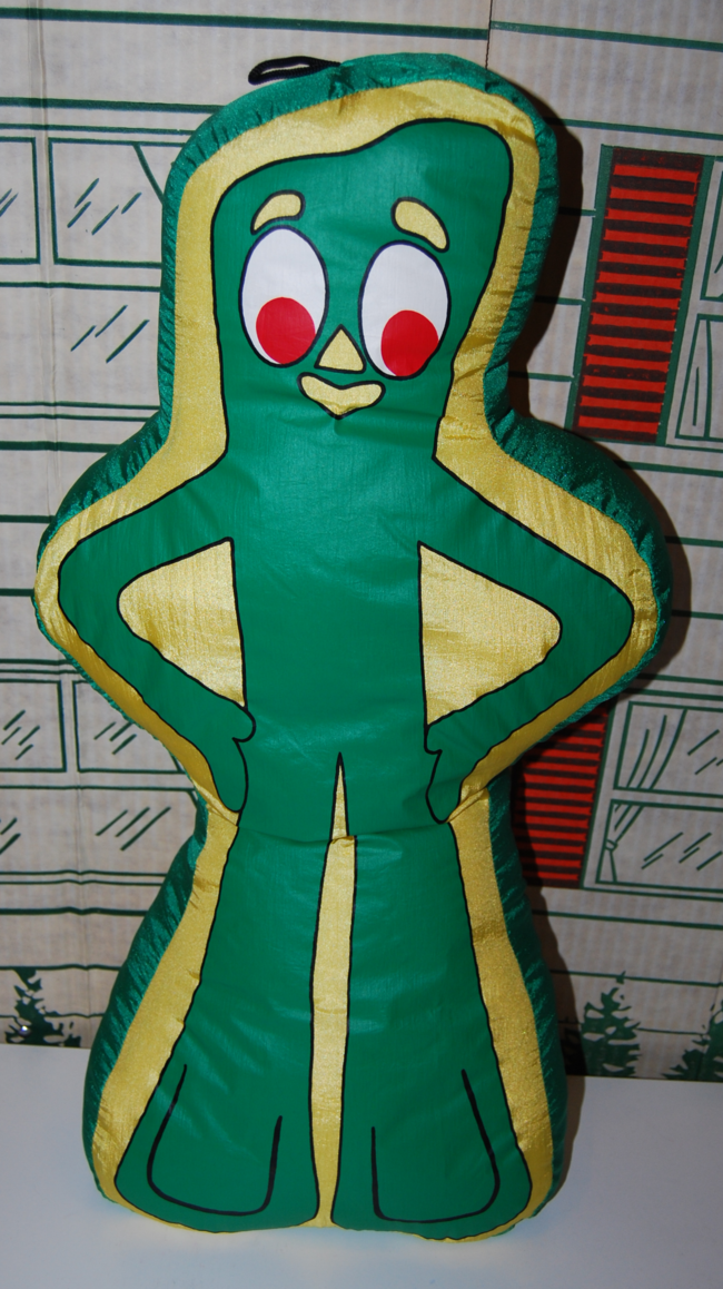 gumby pillow