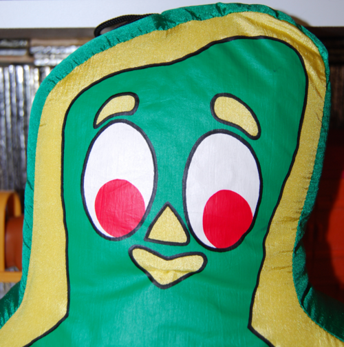 Gumby pillow 1996 x