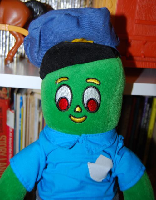 Gumby policeman plush toy prema