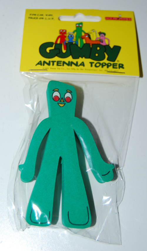 Gumby antenna topper