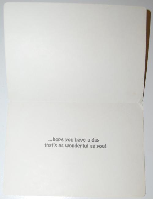 Gumby birthday card 1985 art clokey x