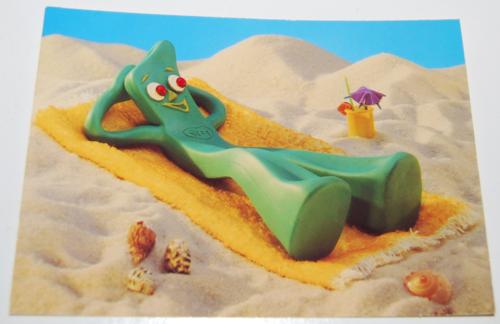 Gumby postcard