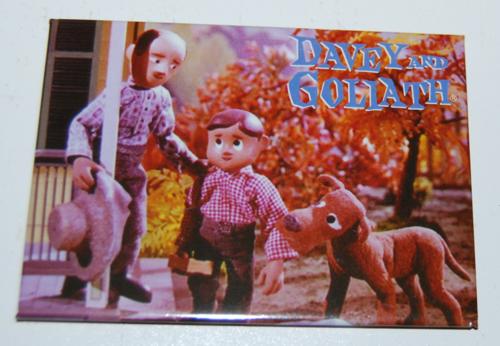 Davey & goliath magnet