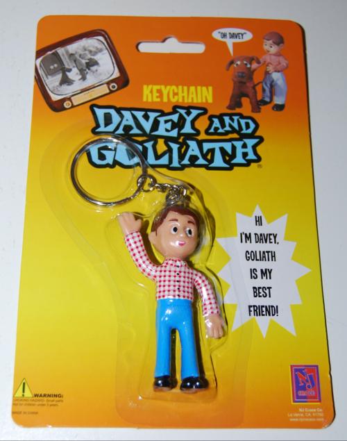 Davey & goliath keychain 2
