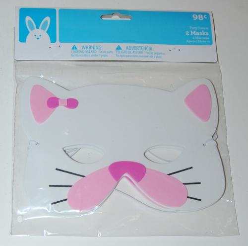 Easter kitty masks