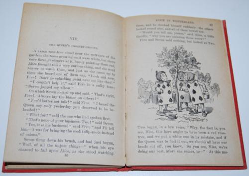 Alice's adventures in wonderland ny book co 1911 10
