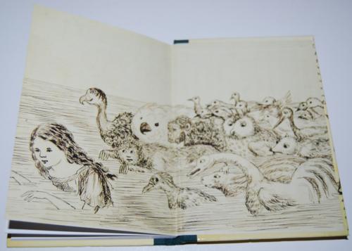Alice's adventures underground book of days 10