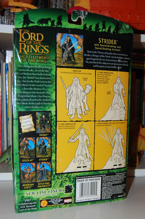 Lord of the rings strider figure 3