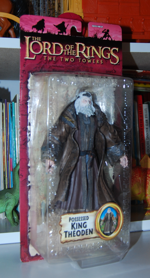 Lord of the ring two towers possessed king theoden figure 1