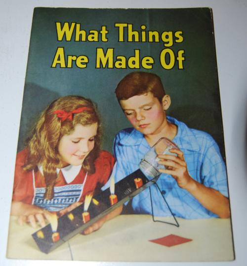 Vintage school science book