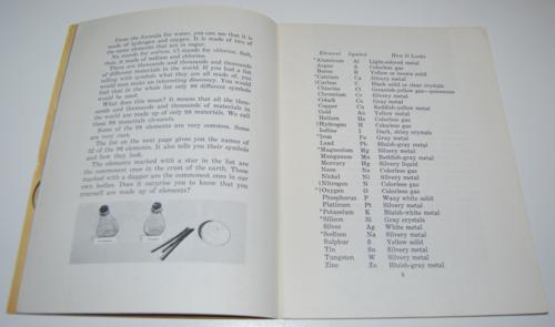 Vintage school science book 3