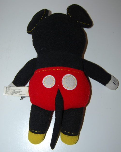 Mickey mouse plush toy 1
