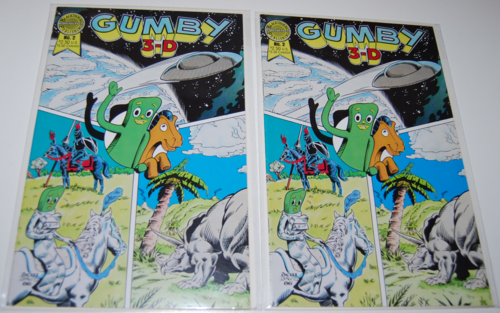 Gumby 3d comic blackthorne 2
