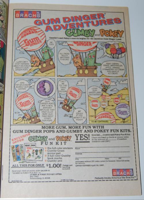 Brach's ad gumby & pokey