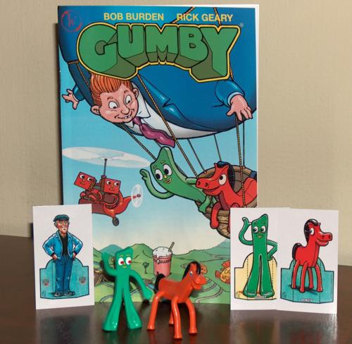 Gumby comic promo