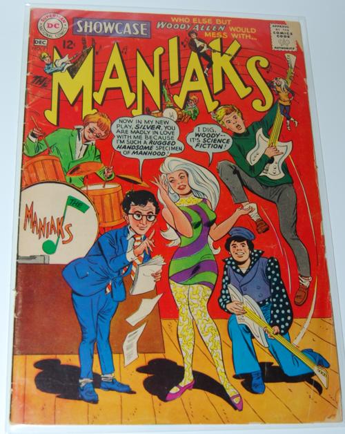 Maniaks comic