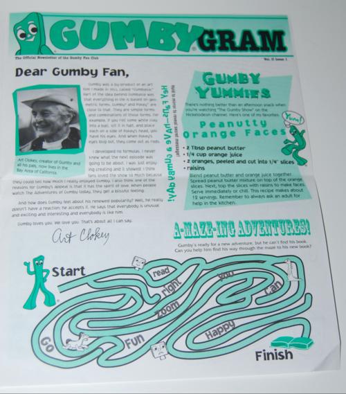 Gumbygram newsletter