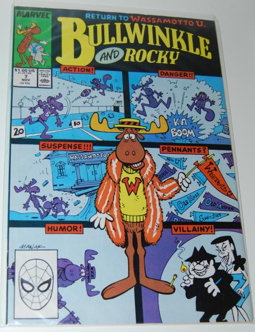 Marvel bullwinkle & rocky comic