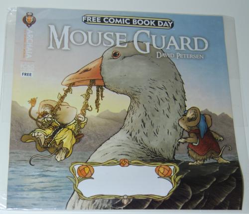 Mouse guard comic x