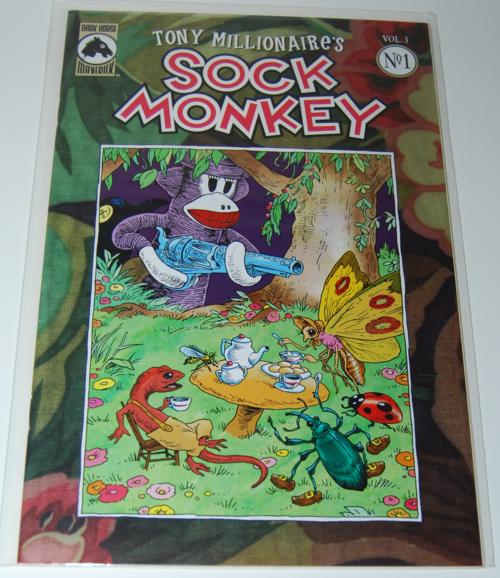 Sock monkey comic