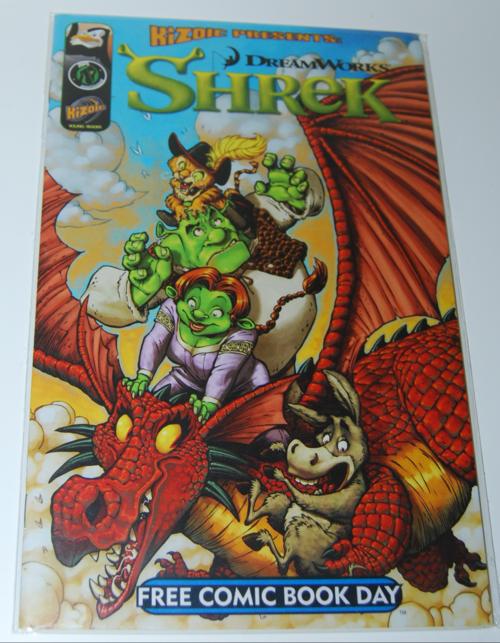 Shrek fcbd comic