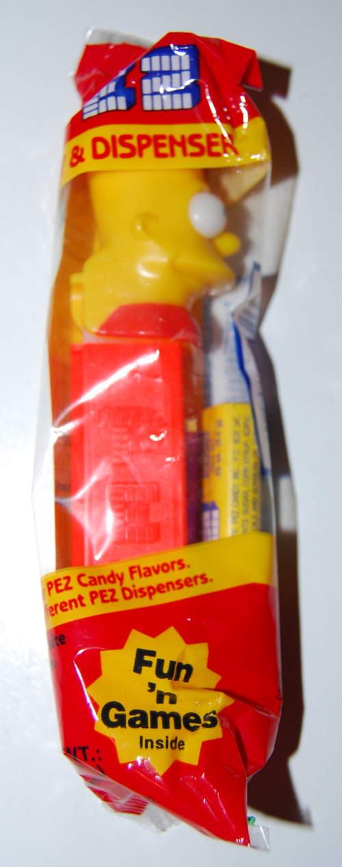 Simpsons pez dispensers 1