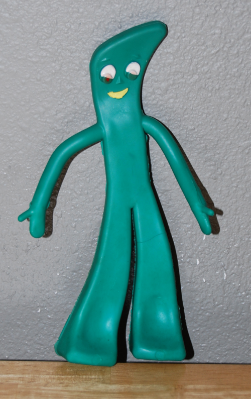 Rare unmarked early gumby 1