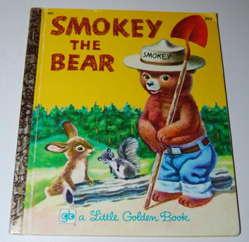 Smokey the bear little golden book