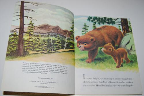 Smokey the bear little golden book 2