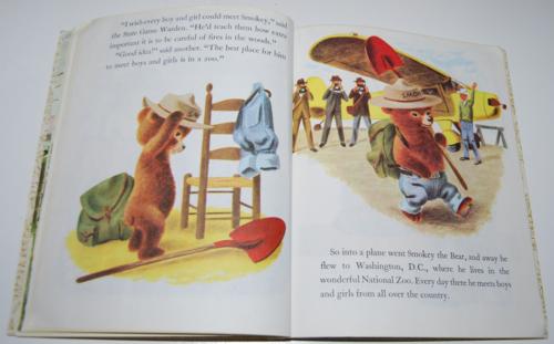 Smokey the bear little golden book 8