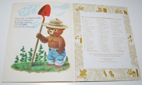 Smokey the bear little golden book 10