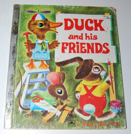 Duck & his friends little golden book