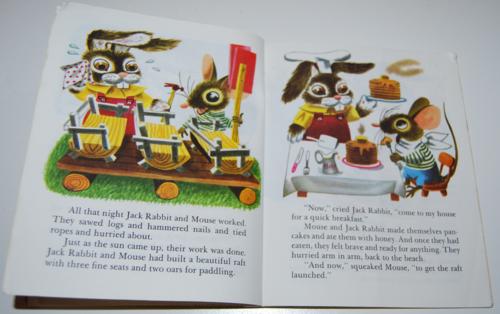 Duck & his friends little golden book 4