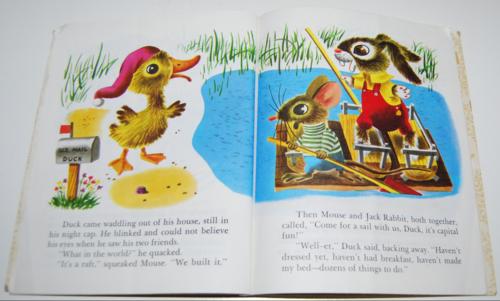 Duck & his friends little golden book 5