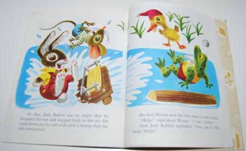 Duck & his friends little golden book 6