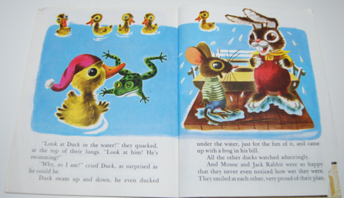 Duck & his friends little golden book 7