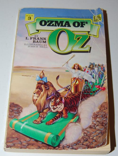 Del rey wizard of oz ozma of oz