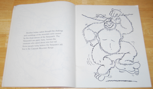 The original mt st helens coloring book 4