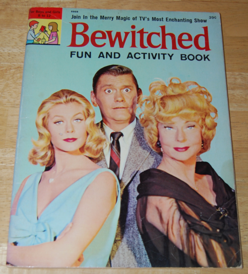 Bewitched vintage activity book