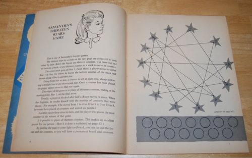Bewitched vintage activity book 3